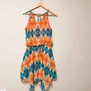 City Triangle Halter Neck Dress